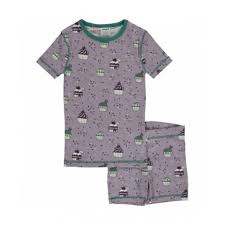 Maxomorra - Pyjama Set Short Sleeve Cupcake