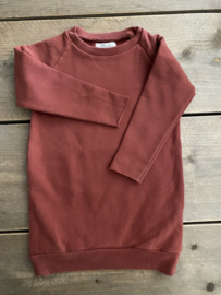 Little Hedonist - Ruth Sweaterdress Dusty Rose 74/80