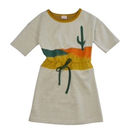 Baba Kidswear - Blanche Dress Cactus