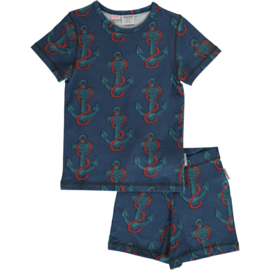 Maxomorra - Pyjama Set Short Sleeve Anchor
