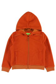 Lily Balou - Tristan Hoodie Potters Clay/Mandarin Red