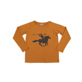 Liv+Lou - Pim Shirt Sudan Brown 140