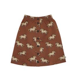 Carlijn Q - Skirt with Buttons Wild Horses