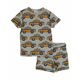Maxomorra - Pyjama Set Short Sleeve Taxi