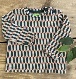 Lily Balou - Francis Baby Shirt Blocks Green 68/74