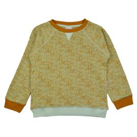 Baba - Sweater Jacquard Dots Green