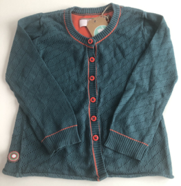 4FF - Red Petrol Cardigan 110/116