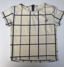 Atracktion - Caroline T-Shirt Antique White Big Cubes 116