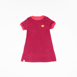 Alba of Denmark - Vida Dress Raspberry Magic Stripes