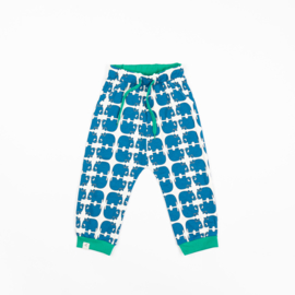 Alba of Denmark - Lucca Baby Pants Snorkel Blue Wanna Be an Animal