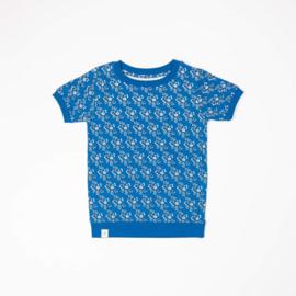 Alba Of Denmark - Alberte Shirt Snorkel Blue Liberty Love