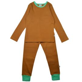 Ba*Ba Kidswear - Pyjama Long Brown Sugar