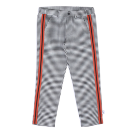 CarlijnQ - Chino With Stripe Mini Checkers