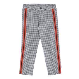 CarlijnQ - Chino With Stripe Mini Checkers