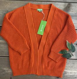 Lily Balou - Mirthe Cardigan Red Orange 104/116