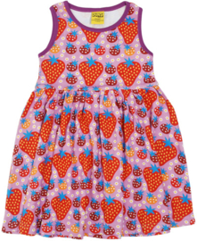 Duns Sweden - Strawberry Field Light Purple Gather Dress