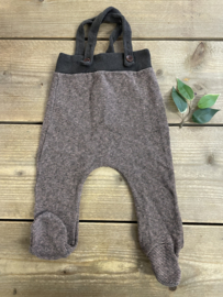 1+ In The Family - Fine Striped Suspender pants 74