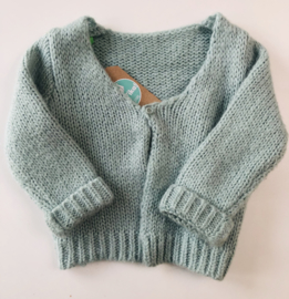 Lily Balou - Pale Blue Knitted Cardigan 86/92