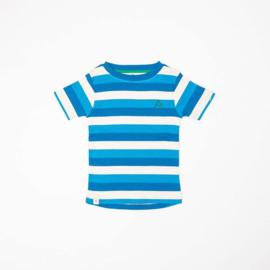Alba Of Denmark - The Bell T-Shirt Snorkel Blue Stripes
