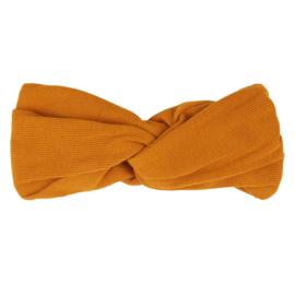 Carlijn Q - Twisted Headband Ribbed Pumpkin