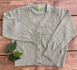 Lily Balou - Alicia Cardigan Frost Green 98/104