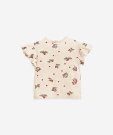 Play Up - T-Shirt with Blueberries Print Mushroom