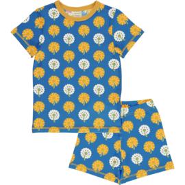 Maxomorra - Pyjama Set Shortsleeves Dandelion