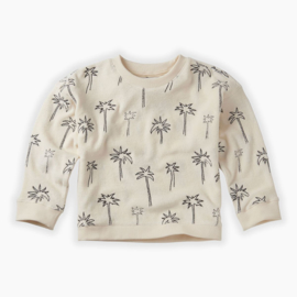 Sproet & Sprout - Sweatshirt Terry Palm Trees