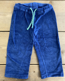 Froy & Dind - Blue velourse baggy 86/92