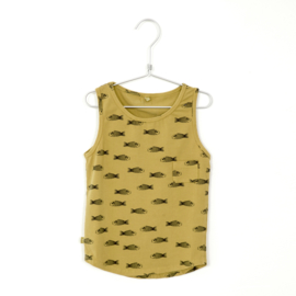 Lötiekids - Tanktop Fishes Sun Yellow