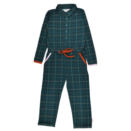 Baba - Aster Jumpsuit Checked Blue