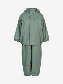 Celavi - Rainwear Set Solid fleece Slate Grey