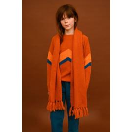 Lily Balou - Mira Colourblock Jumper Rust