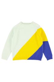 Lily Balou - Luda Colourblock Sweater Clearly Aqua