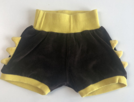 Lipfish - Brown Velourse shorts 62/68