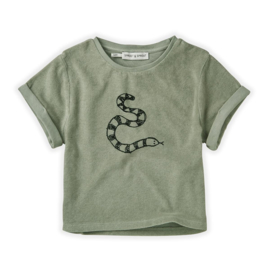 Sproet&Sprout - Sweat T-Shirt Snake