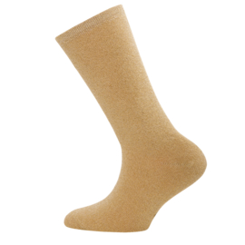 Ewers - Socken Glitzer Dunkelgold