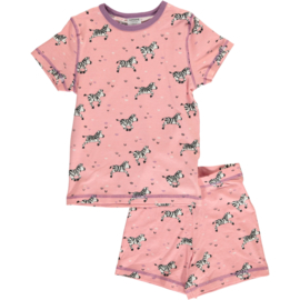 Maxomorra - Pyjama Set Short Sleeve Zebra