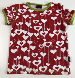 Maxomorra - Hearts T-shirt 122/128