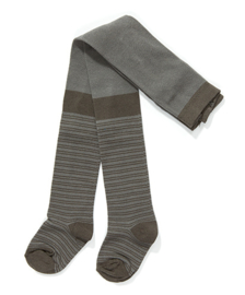 Alba - Futte  Tights Grey Striped 6/7jaar
