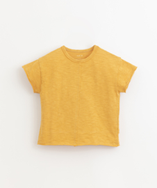 Play Up - T-Shirt with Details on the Front and Back Sunflower