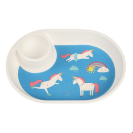 Rex London - ¨Magical Unicorn Bamboo Eggplate