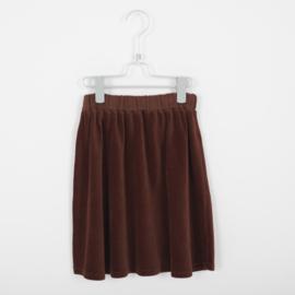 Lötiekids - Skirt Corduroy Rust Brown Solid