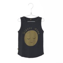 Lötiekids - Tanktop Sleepy Moon Charcoal