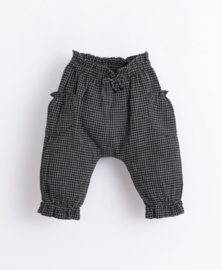 Play Up - Trousers with Vichy Pattern Frame