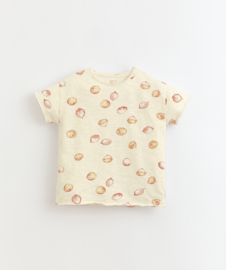 Play Up - T-Shirt with Lemons Print