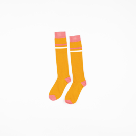 Alba of Denmark - Annie Knee Socks Bright Gold