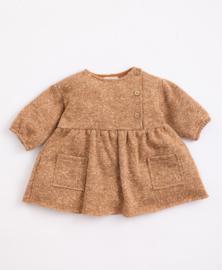 Play Up - Jersey Knit Dress with Fleece inside Jar