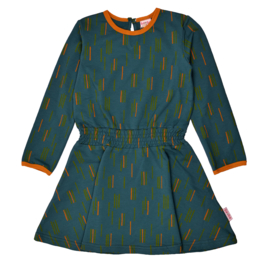 Baba - Smock Dress Dancing Stripes
