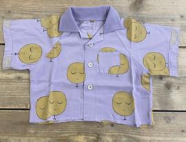 Lötiekids - Polo Shirt Moons Mauve